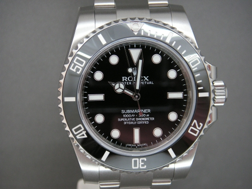 Rolex Submariner 114060 Ceramic Bezel Brand New Complete Watch