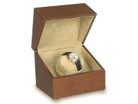 Single Watch Winder  - Perpetua Satin - Walnut