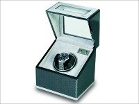 OUT OF STOCK - Single Watch Winder -  F3 carbon fibre and aluminium