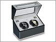 Twin Watch Winder - F3 carbon fibre and aluminium