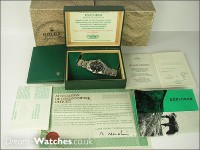Vintage Rolex Explorer 1016 - Complete Example Double punched Papers