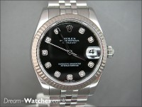 Rolex Date-Just Mid Size 178274 Diamond Dial - Brand New Complete Watch
