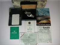 Vintage Rolex Explorer ll 1655 UK totally complete - amazing