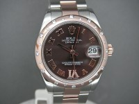 Ladies Rolex Datejust 31mm 178341 2011 Steel & Everose Gold | Choclate Diamond Dial | The In Watch To Wear!