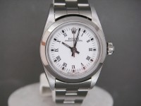 Ladies Rolex Oyster 78060 24mm Stainless Steel White Dial Pristine Condition