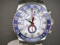 Rolex Yacht-Master 2 116680 SS Blue Ceramic Bezel White Dial Brand New