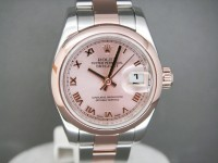 Ladies Rolex Date-Just 179171 Steel & Everose Gold 2009 As New UK Example
