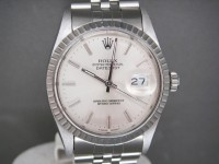 Rolex Date-Just 16030 Stainless Steel Complete One Owner UK Watch - Stunning!
