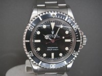 Vintage Rolex Submariner 5513 Maxi Dial Complete Box & Papers Example