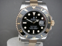Rolex Submariner 116613LN Steel & 18ct Gold Black Ceramic Bezel Complete UK Watch