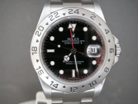 Rolex Explorer 2 16570 Black Dial 2009 Just Serviced Complete UK Watch