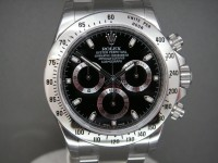 Brand New 2016 Rolex Stainless Steel Daytona 116520 Black Dial - No Longer Produced -  Collectors Piece