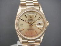 Rolex Day-Date 18238 18k Gold Totally Complete One Owner UK Pristine Watch