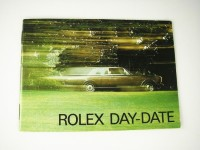 Vintage Rolex Day-Date Booklet 1970's