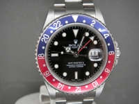 Rolex GMT Master ll 16710 Pepsi Bezel 2007 UK One Owner Totally Complete Example