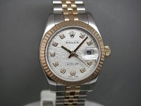 Rolex Ladies Date-Just 179173 Steel & 18ct with Jubilee Diamond Dial Brand New