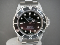BRAND NEW OLD STOCK ROLEX NON DATE SUBMARINER 2010 UK RANDOM SERIAL