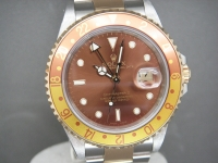 Very Rare Worn Once Rolex GMT Master ll 16713 ROOT BEER 2002 UK Watch New Old Stock