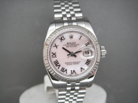 Ladies Rolex Date-Just 179174 White Mother of Pearl Dial Simply Stunning!