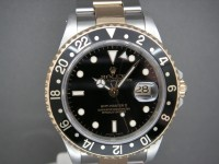 Rolex GMT Master ll 16713 Steel & 18ct Gold Complete UK Watch