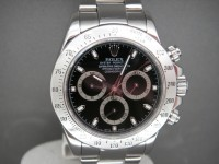 Rolex Daytona 116520 Stainless Steel Black Dial Totally Complete Pristine UK Example