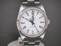 Rolex Air-KING 14000M Stainless Steel White Dial Complete Pristine Example