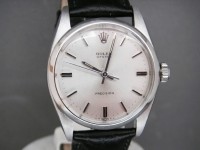 Vintage Rolex Oyster 6426 From 1966 Fitted on New Black Hirsch Leather Strap