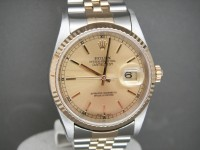 Rolex Date-Just 16233 Steel & 18ct Gold 2003 Complete UK Example