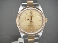 Rolex Oyster 14233 34mm Steel & 18ct Gold Just Rolex Serviced Stunning and So Complete!