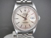 Rolex Date-Just 16220 36mm Jubilee Bracelet with Classic Silver Dial