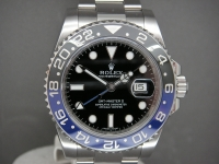 "Rolex GMT Master ll 116170BLNR ""Bruiser"" Day/Night MINT Complete Example"