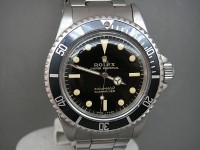 Rolex Submariner 5513 Mint Gilt Gloss Dial