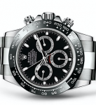 Brand new UK Rolex Daytona 116500LN Ceramic bezel Black dial