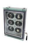 Multiple Watch Winder - Optima Watch Cabinets - Carbon Fibre - W256