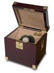 Single Watch Winder - Captains Range - Mahogony - W271