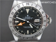 "Vintage Rolex Explorer ll Orange Hands ""Steve McQueen"" 1655 straight hand box and papers"