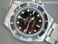 Vintage Rolex Submariner gilt dial 5113 - The best ever!
