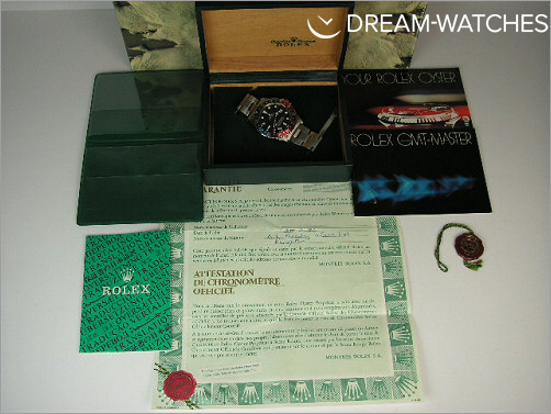 Vintage Rolex GMT 16750 Matte - Box and papers