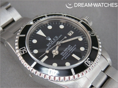 Rare Vintage Rolex Seadweller 1665 UK punched papers and receipt - The best