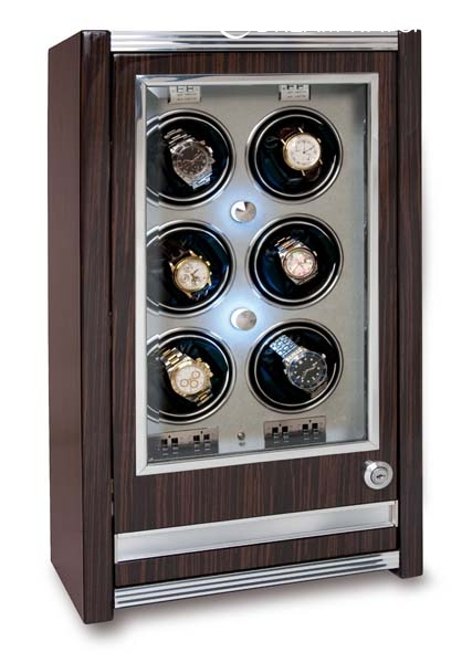 Multiple Watch Winder - Paramount Macassar - W406