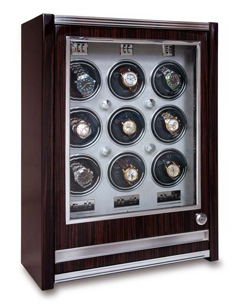 Multiple Watch Winder - Paramount Macassar - W409