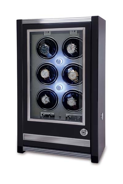 Multiple Watch Winder - Paramount Ebony - W506