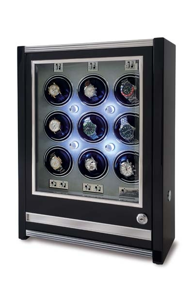 Multiple Watch Winder - Paramount Ebony - W509