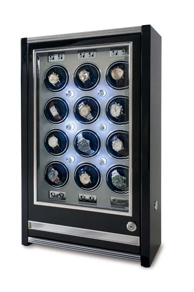 Multiple Watch Winder - Paramount Ebony - W512