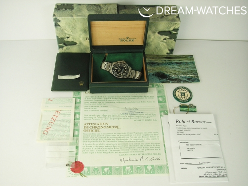 Vintage Rolex Sea-Dweller Great White MK 1 1665 1978 Complete Example - You Will Not Find Better