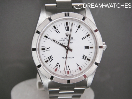 Rolex Air-King 14010 Stainless Steel White Dial 2004 Complete UK Watch