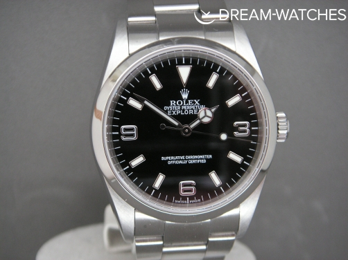 Rolex Explorer 1 114270 2004 Pristine One Owner Complete UK Watch