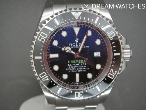 ROLEX DEEPSEA D BLUE 126660 BRAND NEW RARE COMPLETE WATCH
