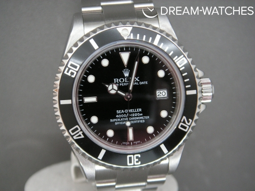 Rolex Sea-Dweller 16600 2006 Pristine Unmarked Complete Example Rolex serviced
