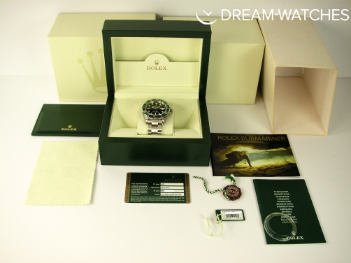 ULTRA RARE ROLEX SUBMARINER 16610LV BRAND NEW UK OLD STOCK 2010 END OF PRODUCTION RANDOM SERIAL
